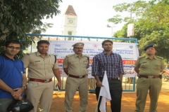 District Police With Dr Edmond Fernandes