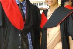 Dr Edmond Fernandes and Sr Prema Misquith