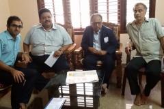 Justice Narayana Kurup and DR Edmond Fernandes