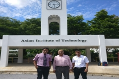Dr Edmond Fernandes at Asian Institute of Technology