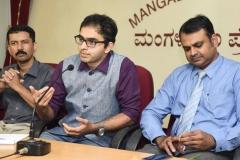 Dr Edmond Fernandes - Mangalore Press Club