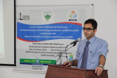 Disaster Risk Reduction Expert - Dr. Edmond Fernandes