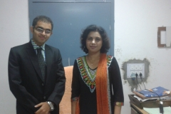 Dr Edmond Fernandes and Dr Indu Grewal