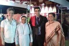 Dr Edmond Fernandes and SRA Sisters