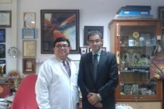 Dr Mahesh Verma and Dr Edmond Fernandes