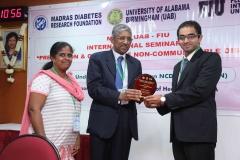 Dr V Mohan & Dr. Edmond - MDRF Chennai