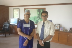 Dr Edmond Fernandes and Dr Devi Shetty - Narayana Health City