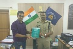 DCP Bangalore South and Dr Edmond Fernandes
