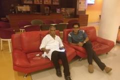 Prof Vinod Menon - Founder NDMA MEmber with Dr Edmond Fernandes