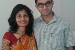 Dr. Neevan Dsouza with Dr. Edmond Fernandes
