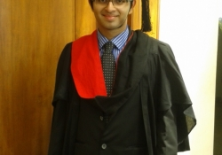 Graduation Day of Dr. Edmond Fernandes