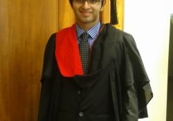 Graduation Day of Dr. Edmond Fernandes
