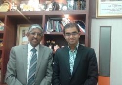 Dr.  V Mohan and Dr. Edmond Fernandes