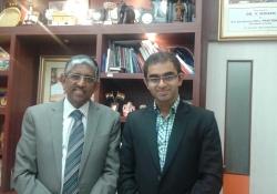 Dr.  V Mohan and Dr. Edmond Fernandes