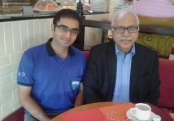 Health Expert and Election Expert meet