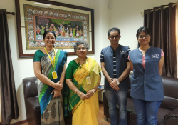 AIIMS-Bhubaneshwar  hosted Dr. Edmond Fernandes