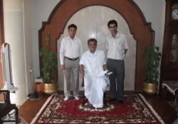 Dharmadhikari, Dharmasthala with Dr. Edmond Fernandes