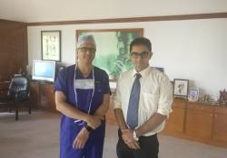Dr. Devi Shetty, Cardiac Surgeon with Dr. Edmond Fernandes