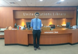 Dr. Edmond Fernandes, Chief of chd group at the United nations library