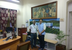 CMC Vellor Director with CEO, CHD Group, Dr. Edmond Fernandes
