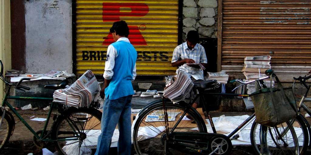 News Paper Boys - CHD Group India