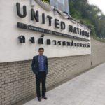 Dr Edmond Fernandes at UNESCAP Soutasia Center, Bangkok