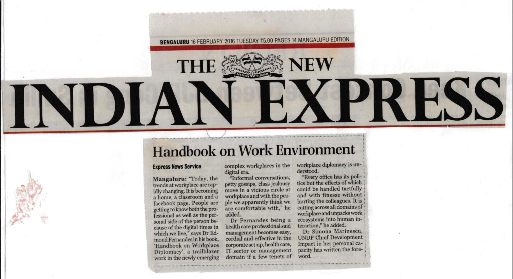 Handbook on Work Environment