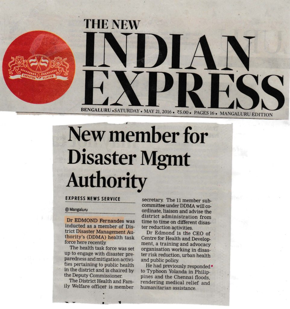 member - disaster management authority
