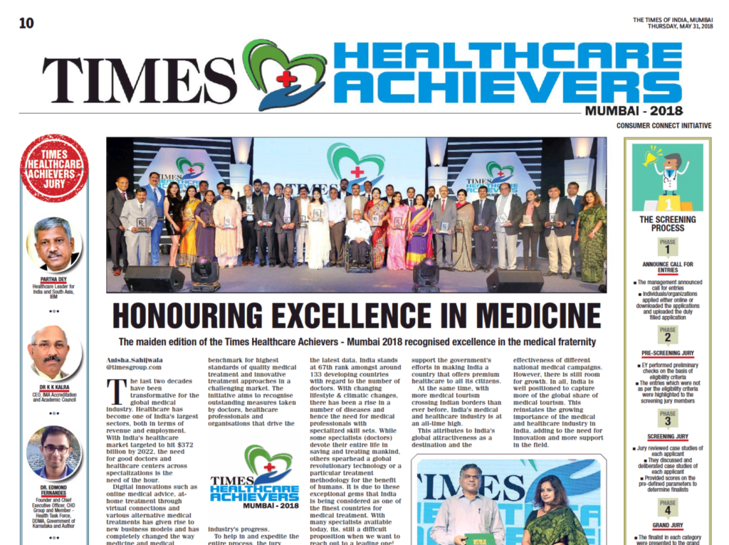 Times Healthcare Achievers